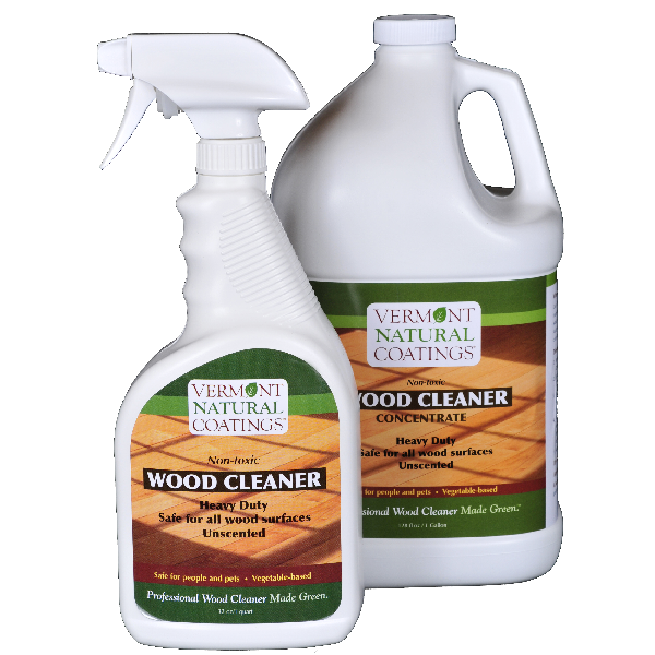 Wood Cleaner Nontoxic Vermont Natural Coatings