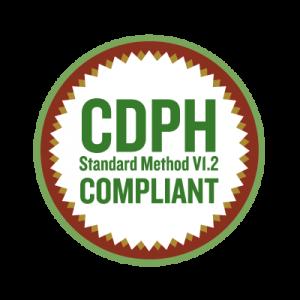 CDPH Standard Metod V1.2 Compliant